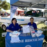 Volunteers raising funds for Marine Rescue